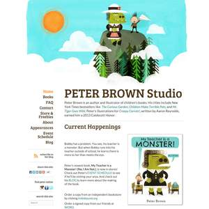 Childrens-Author-Website-Design_Peter-Brown.png
