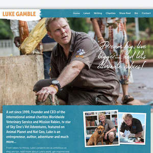 Luke Gamble Author Website