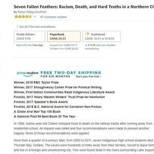 Beautiful Metadata for Seven Fallen Feathers